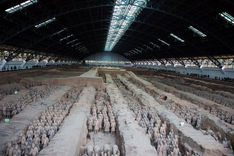 جيش الطين في الصين