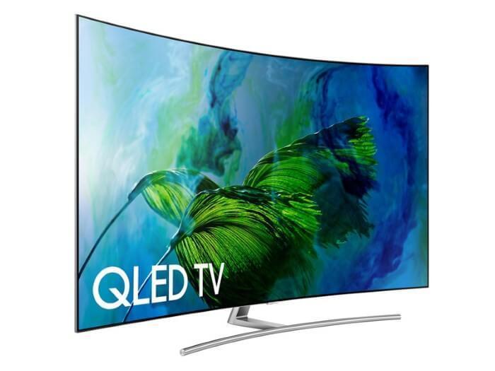 شاشة التلفاز Samsung QLED TV