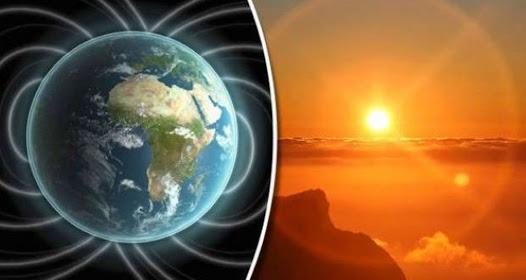دوران الأرض فى الاتجاه المعاكس