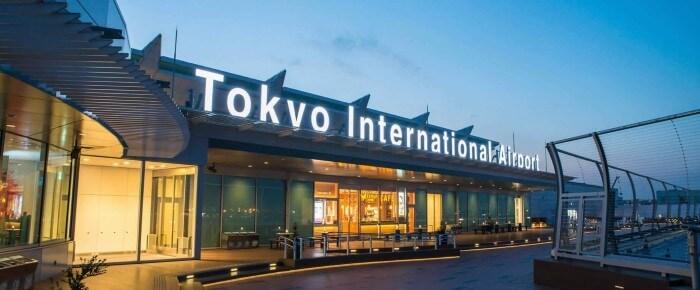 مطار طوكيو هانيدا في اليابان