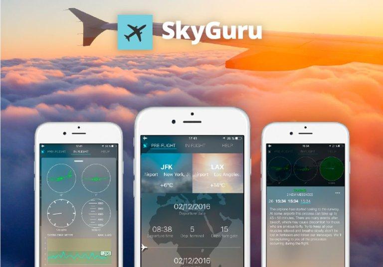 تطبيق SkyGuru
