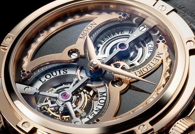 ساعات Louis Moinet