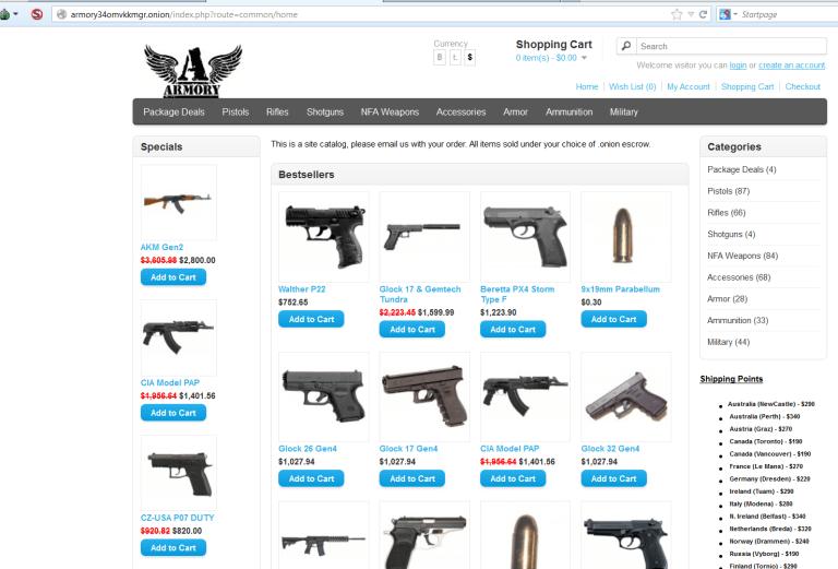 سوق الأسلحة