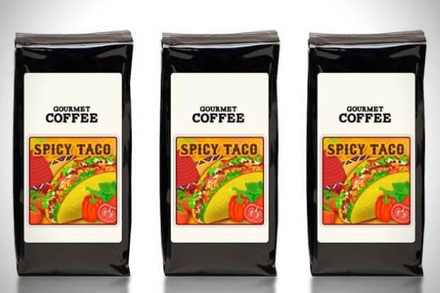 قهوة التاكو الحار