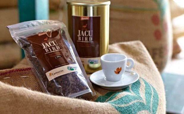 قهوة طائر الجاكو