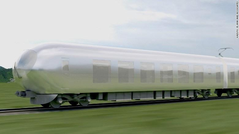 القطار الخفي في اليابان