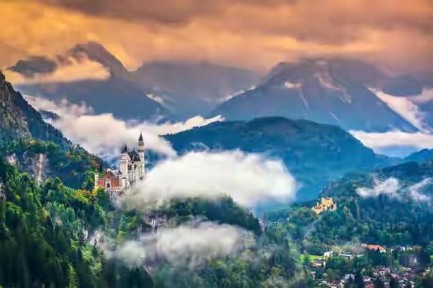 قلعة Neuschwanstein في ألمانيا