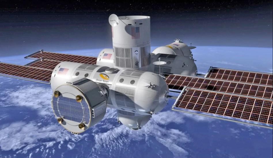 أول فندق فضائي