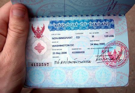فيزا تايلاند