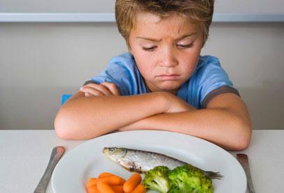 تناول الأطفال الأسماك مرة أسبوعيا