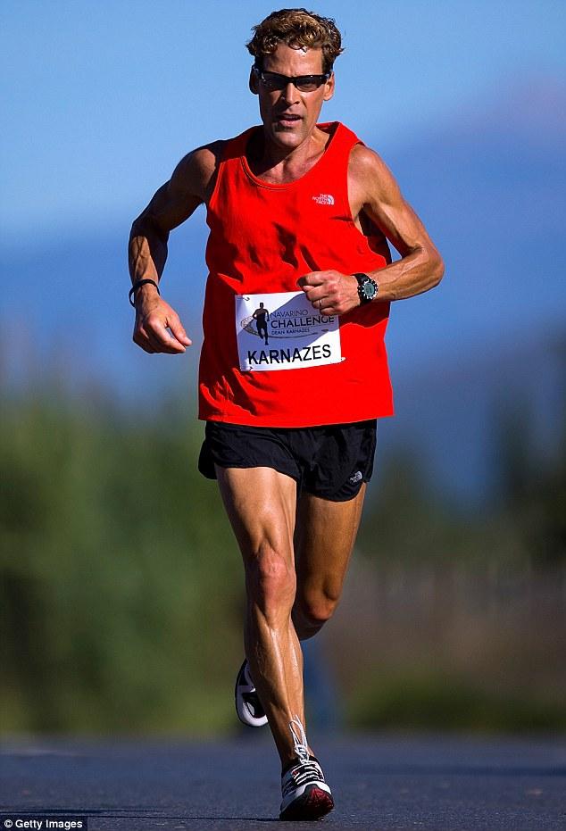 رجل يجري لمدة 80 ساعة متواصلة دون تعب