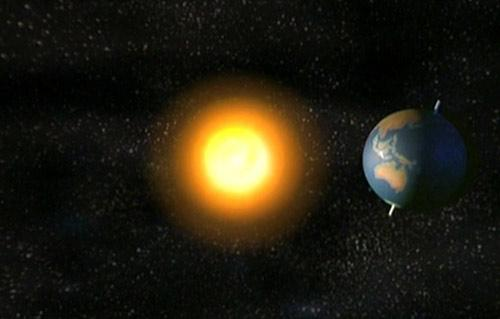 دوران الأرض أسرع