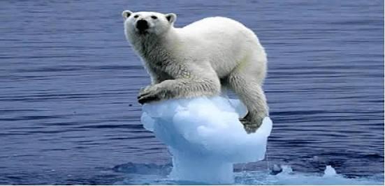 ذوبان الجليد على سطح الأرض