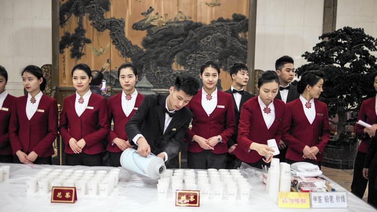 شرب الماء الساخن في الصين