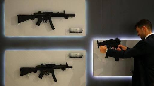 استخدام الأسلحة في الولايات المتحدة الأمريكية