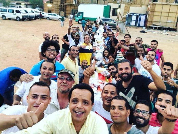 محمد هنيدي بعد الانتهاء من تصوير مسلسل أرض النفاق