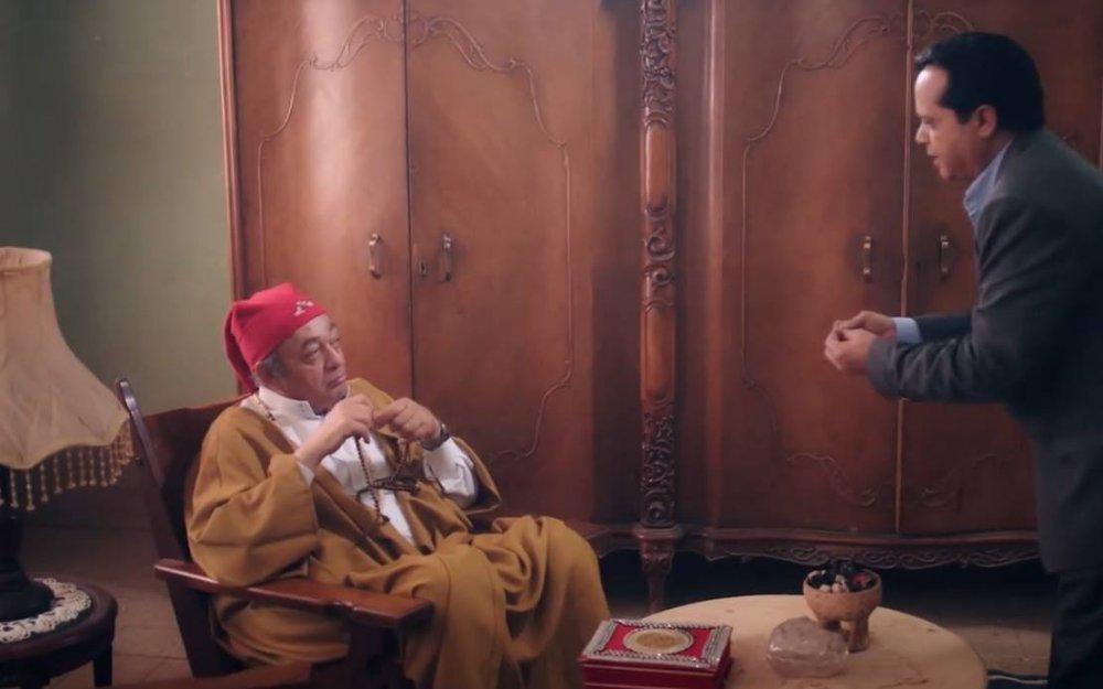 محمد هنيدي في مسلسل أرض النفاق