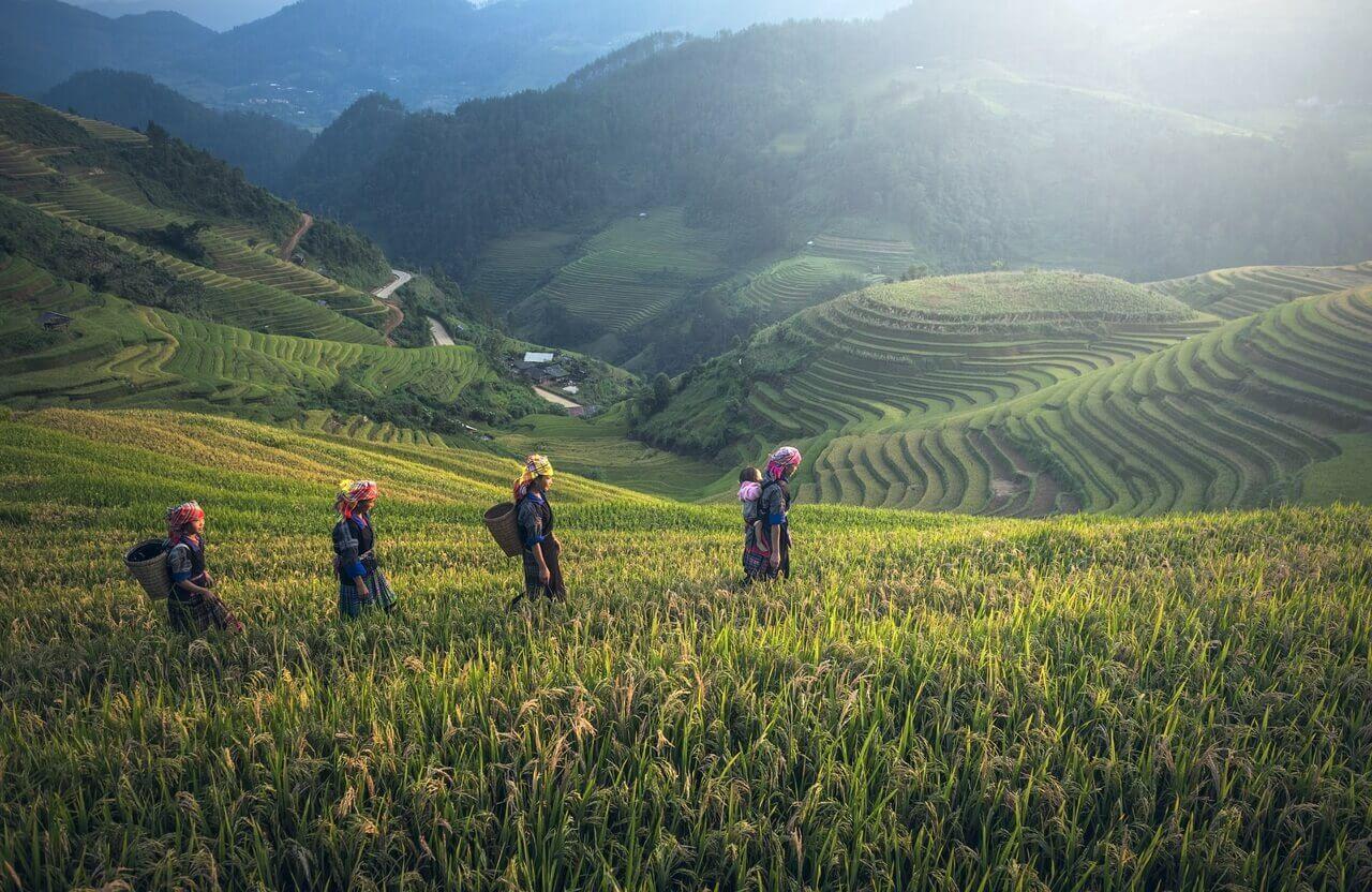 المناظر الطبيعية الخلابة في الصين