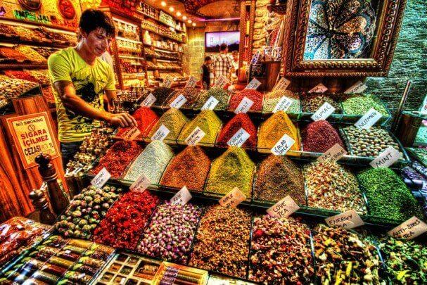 سوق التوابل والبهارات