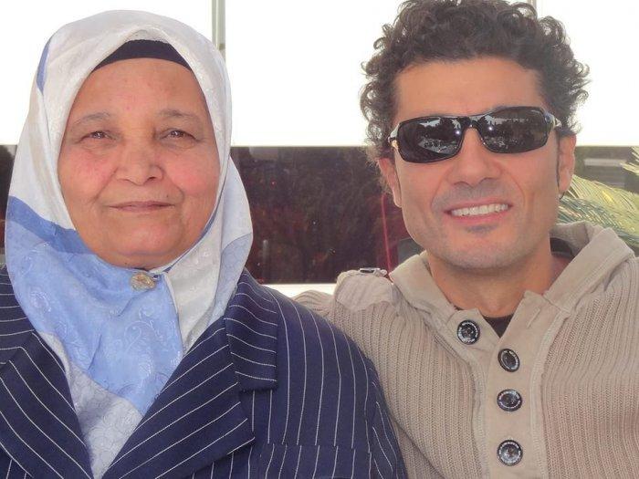 وفاة والدة النجم خالد النبوي
