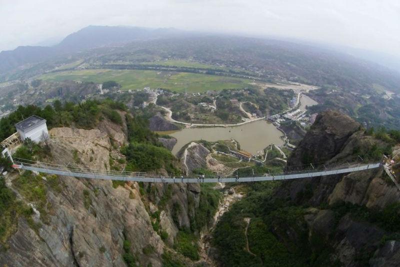 جسر الحديقة الجيولوجية شين هاي