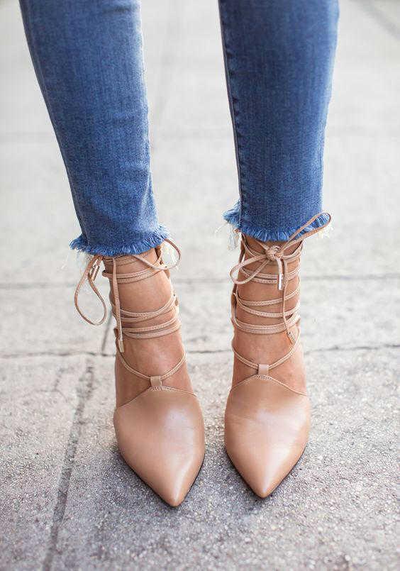 الأحذية المدببة
