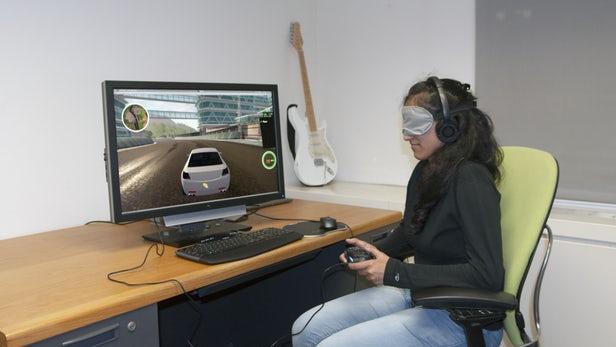 تكنولوجيا ألعاب الفيديو للمكفوفين