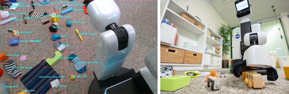 روبوت ذكي لترتيب المنزل