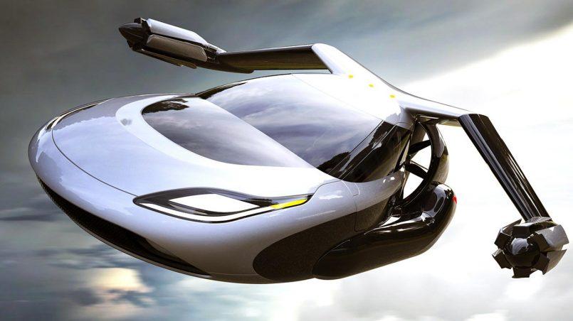 أول سيارة طائرة في العالم